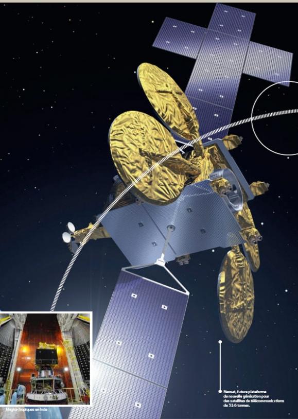 Neosat, future plateforme de nouvelle génération pour les satellites de télécommunications de 3 à 6 t.